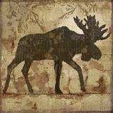 Country Moose Poster af Nan