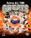 Houston Astros All Time Greats Composite Photo
