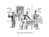 """You seemed disillusioned."" - New Yorker Cartoon Premium Giclee Print by Liam Walsh"