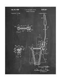 Guitar Vibrato, Wammy Bar Patent Metal Print