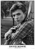 David Bowie- London 1977 Affiches