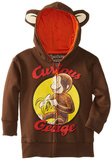 Toddler: Curious George Zip Hoodie Zip Hoodie
