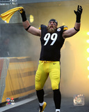 Brett Keisel 2014 Action Photo