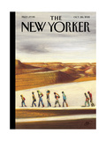 The New Yorker Cover - October 26, 2015 Regular Giclee Print by Lorenzo Mattotti