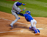 League Championship - Chicago Cubs v New York Mets - Game One Photo by Alex Goodlett