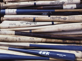 Baseball Bats Metal Print by Paul Sutton