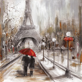 Rainy Paris Prints by Marilyn Dunlap