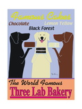 Three Lab Bakery Metal Print by Ken Bailey