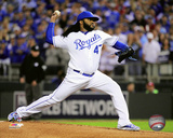 Johnny Cueto Game 5 of the 2015 American League Division Series Photo