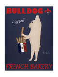 French Bulldog Bakery Metal Print by Ken Bailey