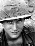 Vietnam US War is Hell Metal Print by Horst Faas