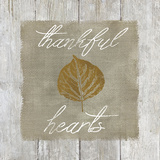 Thankful Hearts Prints by Carol Robinson