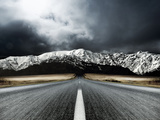 Open Road Metal Print by  PhotoINC