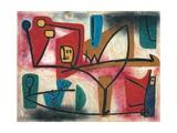 Uebermut (Arrogance) Alu-Dibond von Paul Klee