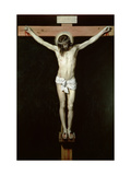 Christ on the Cross, circa 1630 Metal Print by Diego Velázquez