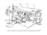 New Yorker Cartoon Premium Giclee Print by Sidney Harris