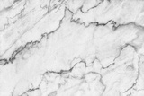 White Marble Texture, Detailed Structure of Marble in Natural Patterned for Background and Design. Photographic Print by noppadon sangpeam