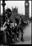 Kiss- London May 1976 Poster
