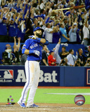 Jose Bautista three-run Home Run Game 5 of the 2015 American League Division Series Fotografía