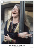 Janis Joplin- London 1969 Prints