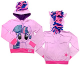 Little Girls: My Little Pony Sparkle Zip Hoodie Zip Hoodie