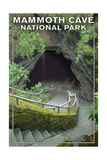 Mammoth Cave, Kentucky - Entrance Poster by  Lantern Press