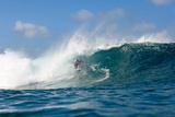 Billabong Pipe Masters Photographic Print by Kelly Cestari