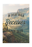 Big Bend National Park, Texas - in Every Walk Muir Quote Posters by  Lantern Press