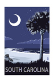 South Carolina - Palmetto Moon Posters by  Lantern Press