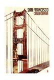Golden Gate Bridge Double Exposure - San Francisco, CA Prints by  Lantern Press