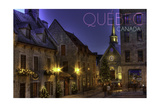 Quebec, Canada - Palace Royale Prints by  Lantern Press