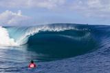 Billabong pro Tahiti Reproduction photographique par Kirstin Scholtz