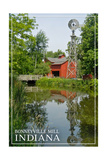 Indiana - Bonneyville Mill Posters by  Lantern Press