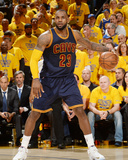 2015 NBA Finals - Game One Photographic Print by Noah Graham