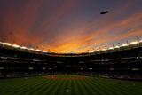 Texas Rangers V New York Yankees, Game 5 Photographic Print by Nick Laham