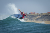 Quiksilver pro France Surfing Photographic Print by Damien Poullenot