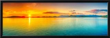 Sunrise Over The Sea. Panorama Posters by  GoodOlga