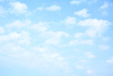 Light Blue Sky with Clouds, May Be Used as Background Photographic Print by  Zoom-zoom