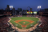 2011 World Series Game 7 - Texas Rangers V St Louis Cardinals Photographic Print by Doug Pensinger