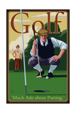 Golf - Much Ado about Putting Art by  Lantern Press