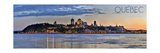 Quebec, Canada - Skyline at Sunset Panoramic Art by  Lantern Press