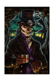 Baron Samedi Voodoo Art by  Lantern Press
