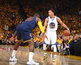 2015 NBA Finals - Game One Fotografisk tryk af Nathaniel S Butler