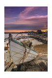 Fishing Boat on Shore Print by  Lantern Press
