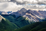 Scenic View of Rocky Mountains Range, Alberta, Canada Photographic Print by  MartinM303