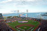 World Series - Detroit Tigers V San Francisco Giants - Game 1 Photographic Print by Thearon W. Henderson