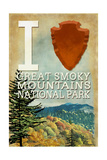 I Heart Great Smoky Mountains National Park Prints by  Lantern Press
