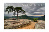 Fall Creek Falls State Park, Tennessee - Buzzards Roost Prints by  Lantern Press