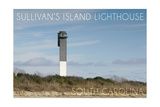 Sullivan's Island, South Carolina - Charleston Light Posters by  Lantern Press
