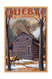 Quebec, Canada - Sugar Shack Poster by  Lantern Press